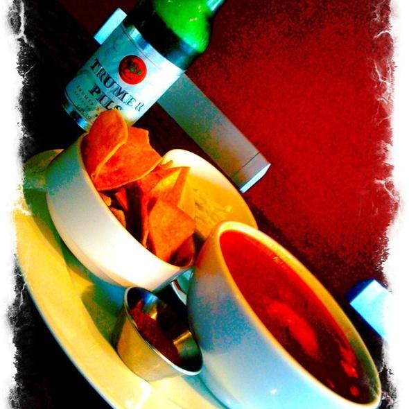 Chicken Pozole Soup @ Bistro Sabor