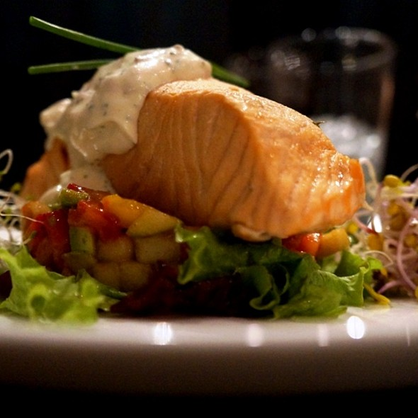 butter poached salmon @ We Are Tango