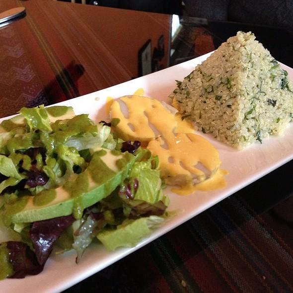 Peruvian Quinoa With Lime And Cilantro @ El Tule