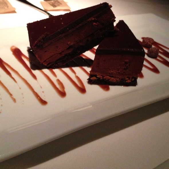 Chocolate Hazelnut Crunchy Cake - Parkway Grill, Pasadena, CA