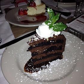 Andes Mint Chocolate Cake - Maggiano's - Boston, Boston, MA
