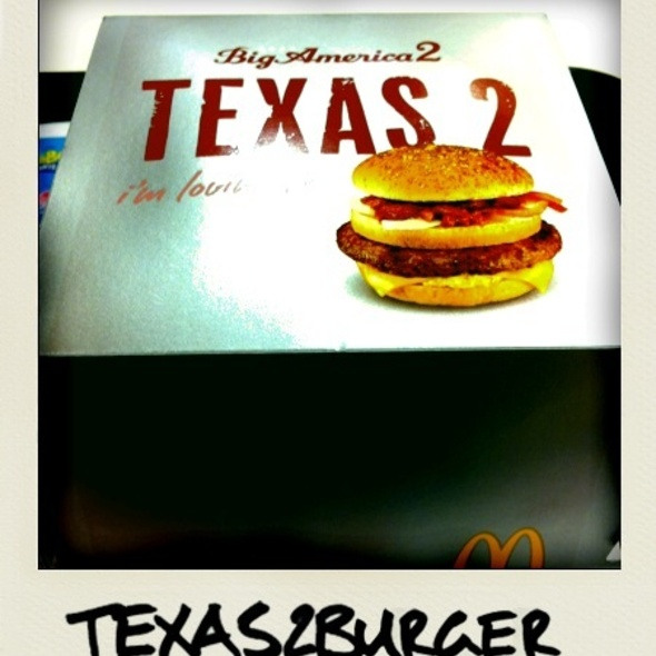 Texas 2 Burger @ マクドナルド・秋葉原昭和通り店