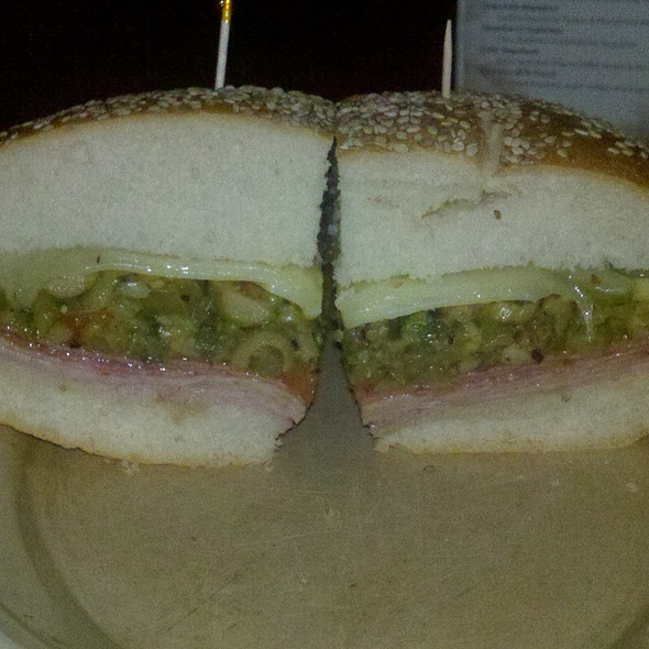 Muffuletta Sandwich @ Napoleon House Bar & Cafe
