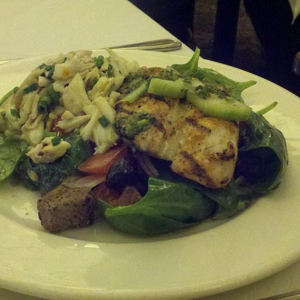 Grilled Gulf Fish Panzanella @ Palace Cafe
