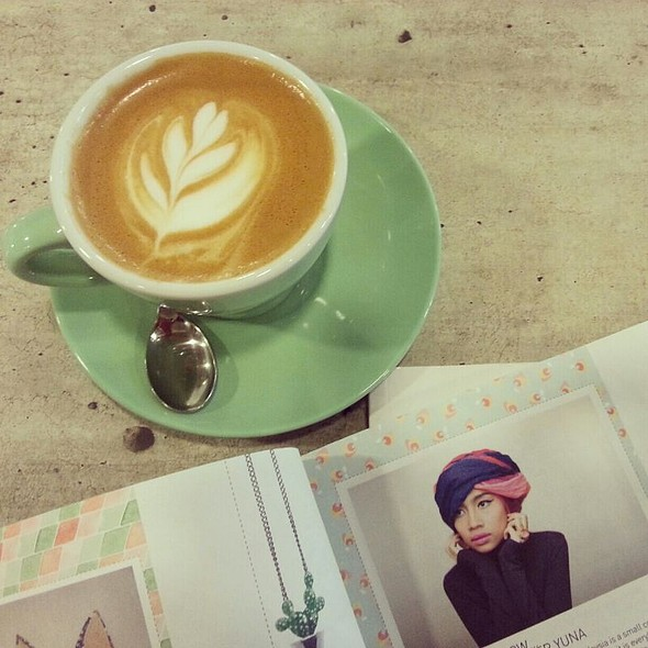 Cappuccino @ Smitten Coffee & Tea Bar