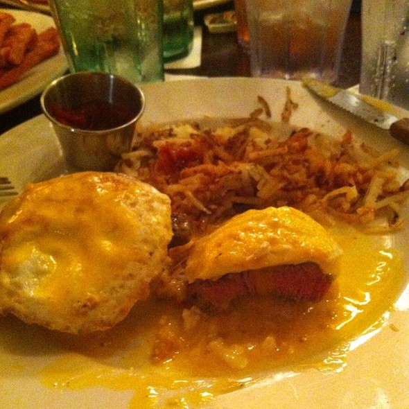 Steak Benedict - Michael Forbes Bar & Grille, Kansas City, MO