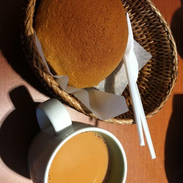 Pappa Roti Bun With Karak @ Pappa Roti Cafe