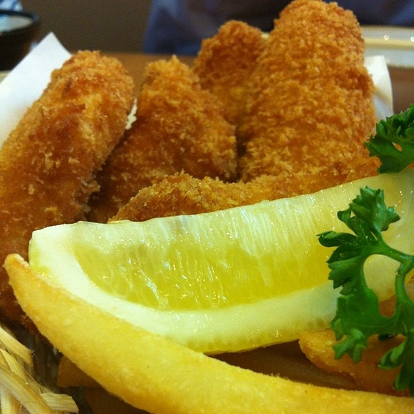 Fish Katsu & Fried Potato Basket @ Saboten @ Central Plaza Grand Rama 9