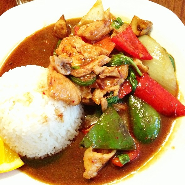 Chicken Basil @ O-sha