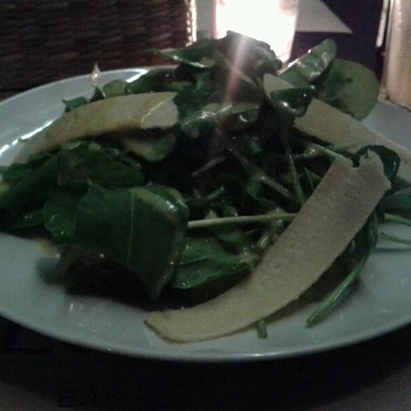 Salada Com Carpaccio