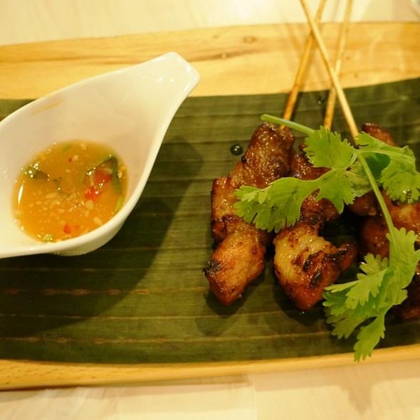 Grilled Northern Thai Pork Skewers @ Sabai Sabai
