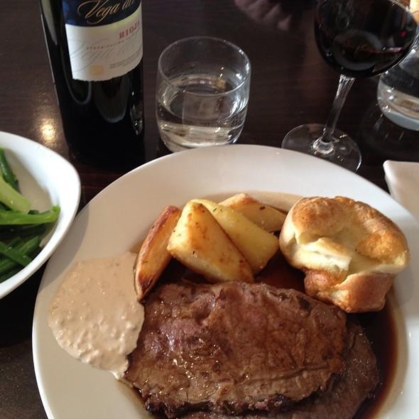 Roast Beef @ Casa Verde Restaurant