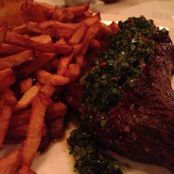 Onglet With Chimichurri @ Tuck Shop
