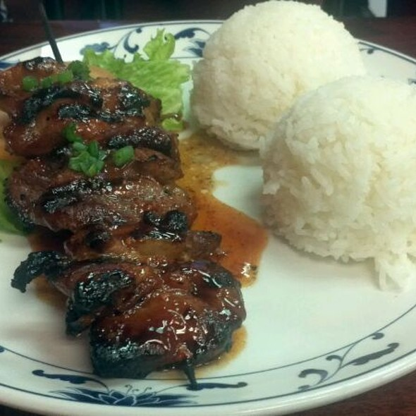 Bbq Pork Skewer & Sticky Rice