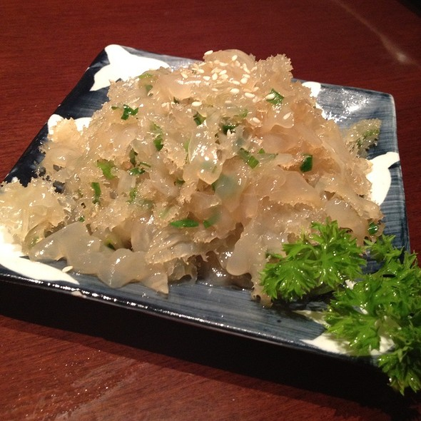 Marinated Jelly Fish With Vinaigrette