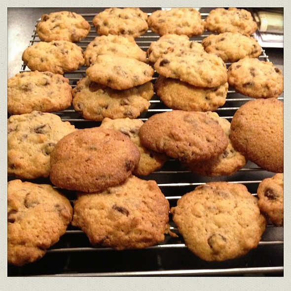 Choc chip cookies @ Chookys
