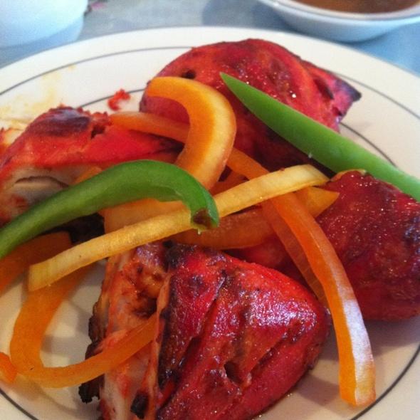 Tandoori Chicken @ Amrit Palace Indian Restaurant