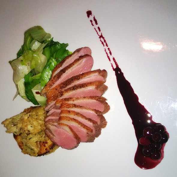 Duck Breast - JORY Restaurant at The Allison Inn & Spa, Newberg, OR