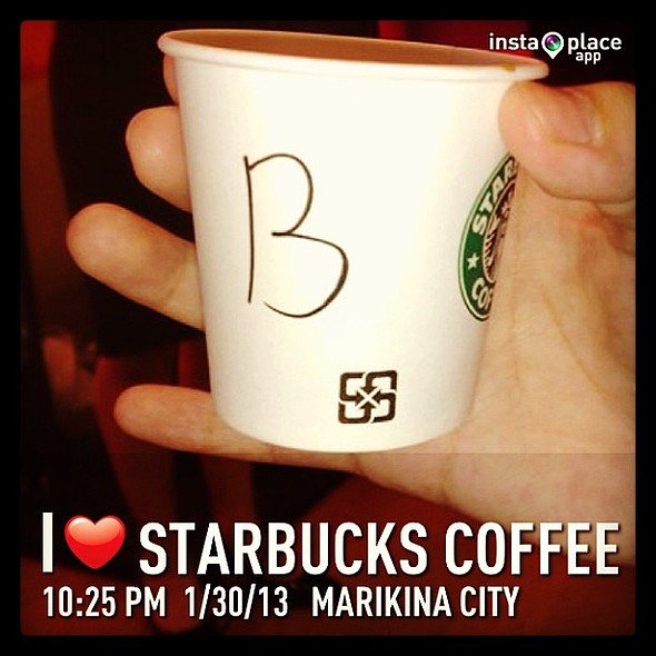 @instaplaceapp @ Starbucks Coffee