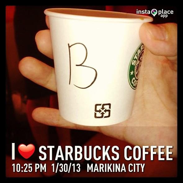 @instaplaceapp @ Starbucks Coffee