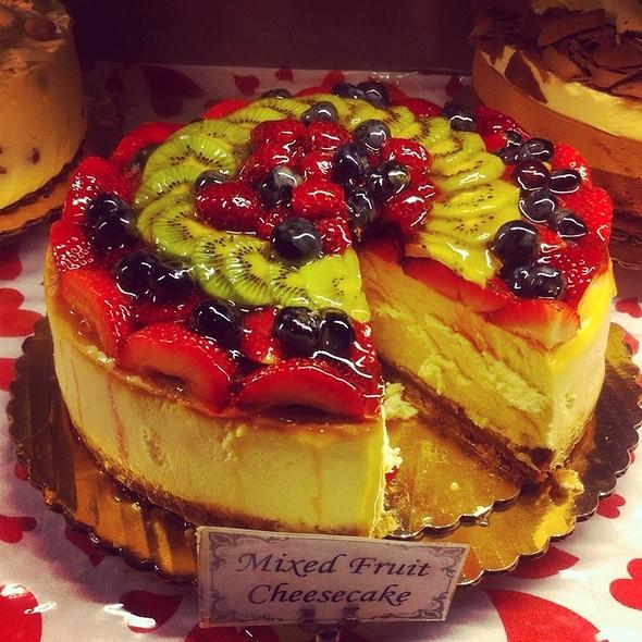 Mixed Fruit Cheesecake - Filomena Ristorante, Washington, DC