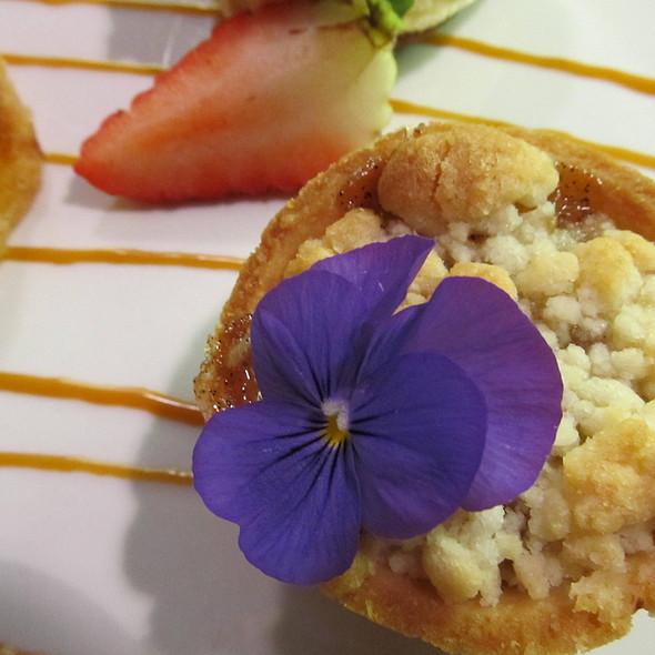 Chocolate Mac Nut Cookie Ice Cream Sandwich - Blue Dragon Restaurant, Kamuela, HI
