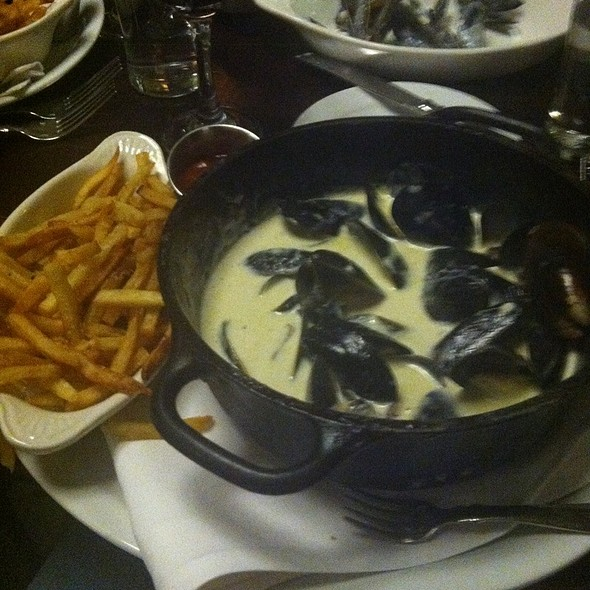 Mussels Frites Blue Cheese - Django Restaurant, Des Moines, IA