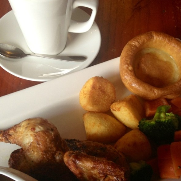 Roasted Chicken @ The Golden Lion