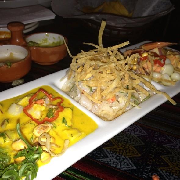 Ceviche Sampler @ El Tule