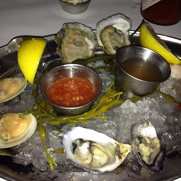 Oysters and Clams on the Half Shell - Louie's Oyster Bar, Port Washington, NY