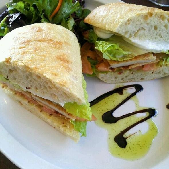 Chicken Milanesa Sandwich @ Sierra Briganti
