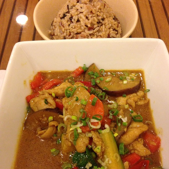 Curry Chicken W/ Wild Rice