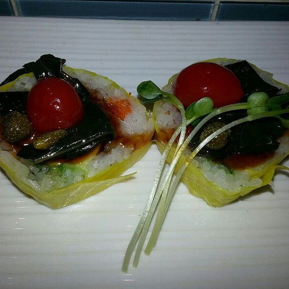 Caprese Roll - Rice Bistro and Sushi, Greenwood Village, CO