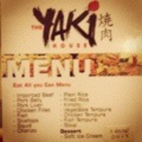 Yakiniku - All-U-Can @ The Yaki House Yakinikui