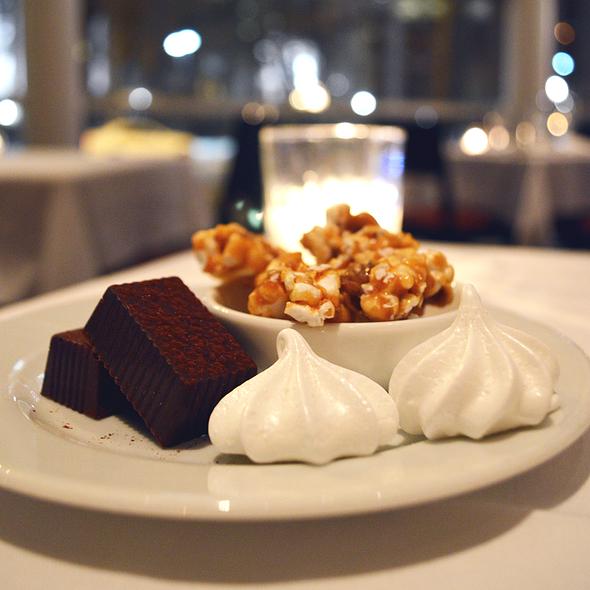 Complimentary Dessert Trio - L'Etoile Restaurant, Madison, WI