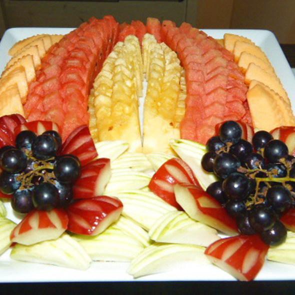 Various Thai Fruits @ Blu-O Bowling @ Siam Paragon