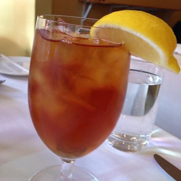 Iced tea - Sociale, San Francisco, CA