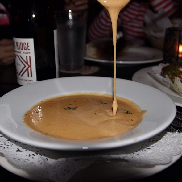 Lobster Bisque @ Formaggio Wine Bar