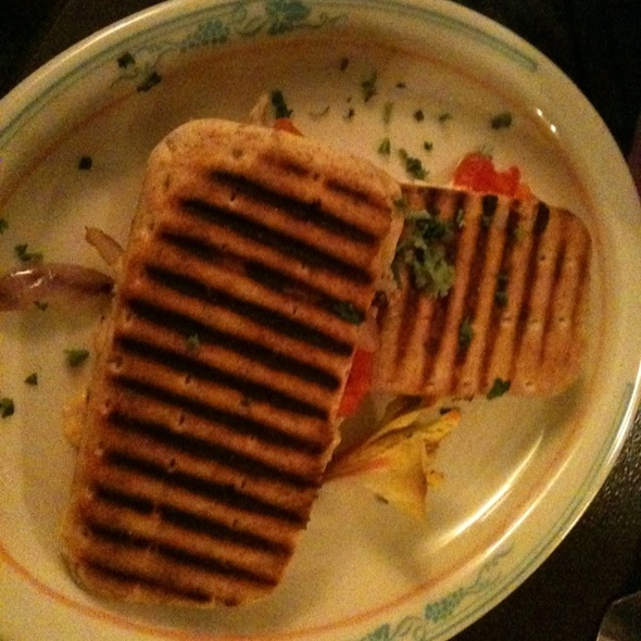 Turkey And Provolone Grilled Samdwich - In The Red Wine Bar & Cafe, Seattle, WA