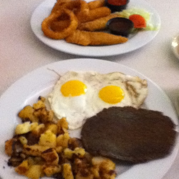Overlea Sampler And Breakfast @ Overlea Diner