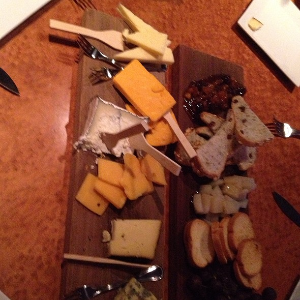 Assorted Cheese Platter @ Park Central Tavern