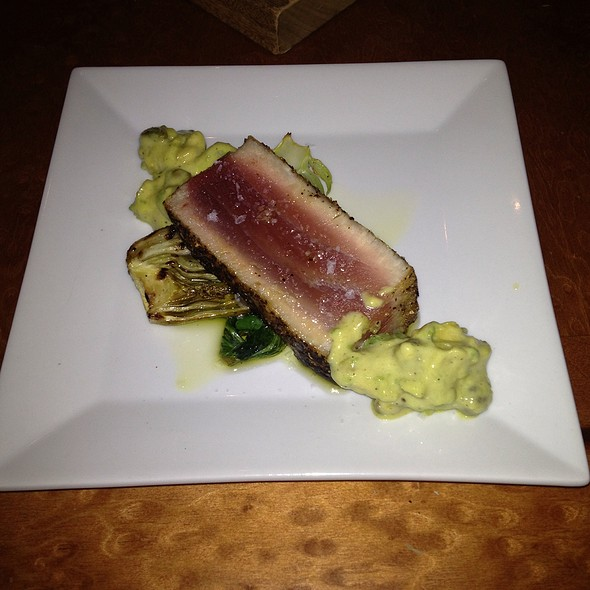 Dayboat Tuna  @ Park Central Tavern
