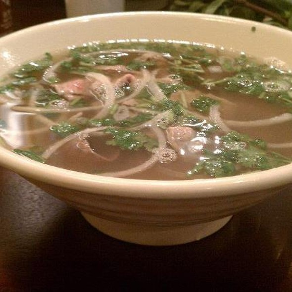 Pho With Beef Brisket And Beef Flank