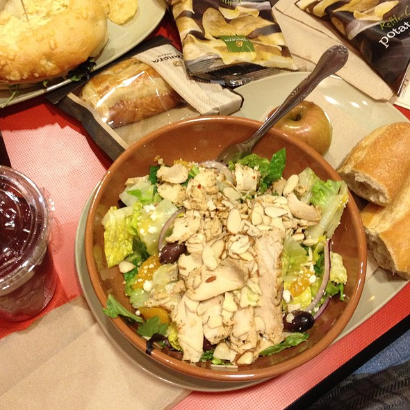 Power Mediter Chicken Salad @ Panera Bread