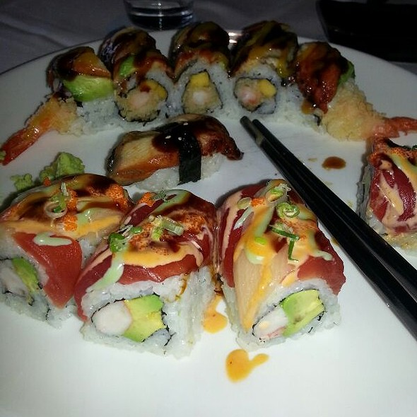 Harrisburg Roll @ Empire Asian Bistro
