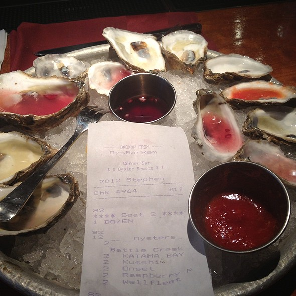 Oysters - Old Ebbitt Grill, Washington, DC