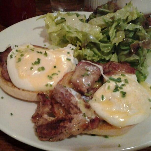 Roast Pork Eggs Benedict - Hunter's, Brooklyn, NY