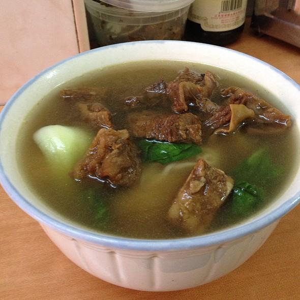 Beef Brisket Thick Noodle Soup