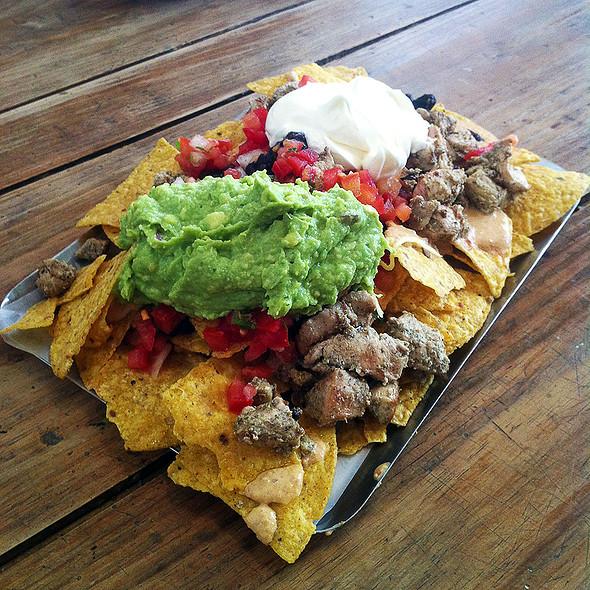Pork Nachos @ Tierra Burrito Bar