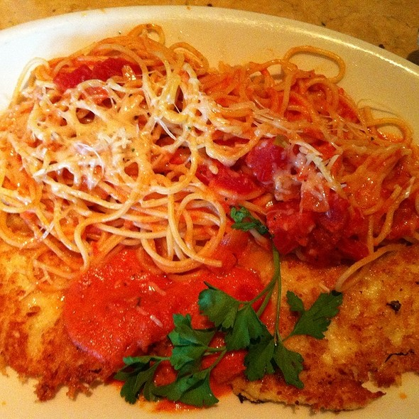 Crusted Chicken Romano